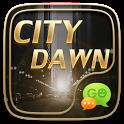 (FREE) GO SMS CITY DAWN THEME icon
