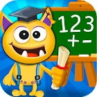 Buddy School: Basic Math learning for kids icon