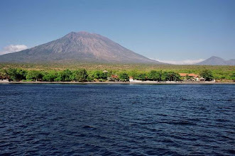 Photo: Volcan Agung dans l'île de Bali