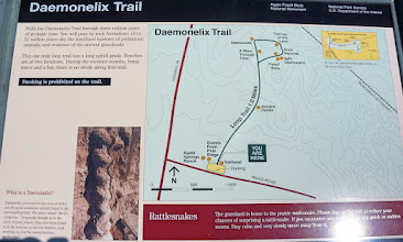 Photo: In Agate Fossil Beds National Monument, we first walked the Daemonelix Trail.
