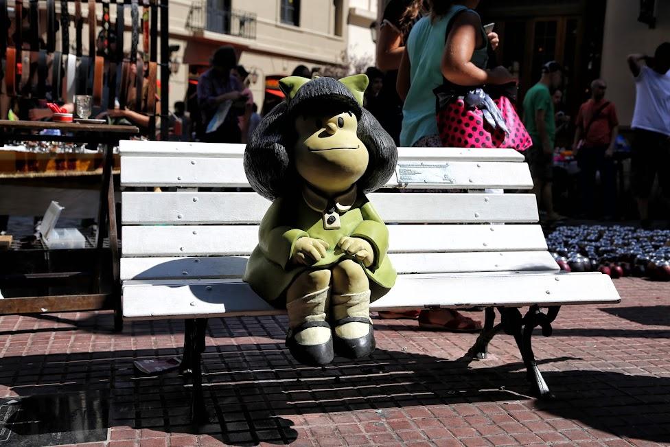 Paseo de la Historieta - Mafalda