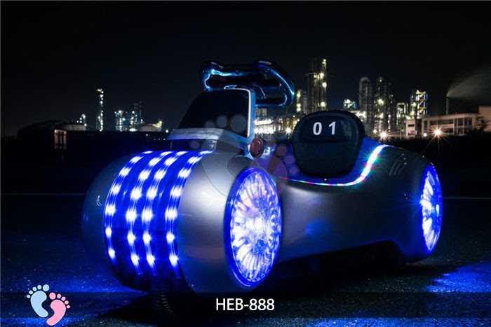 Xe ba bánh điện cho bé HEB-888