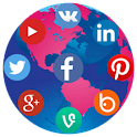 Social Media Connection icon
