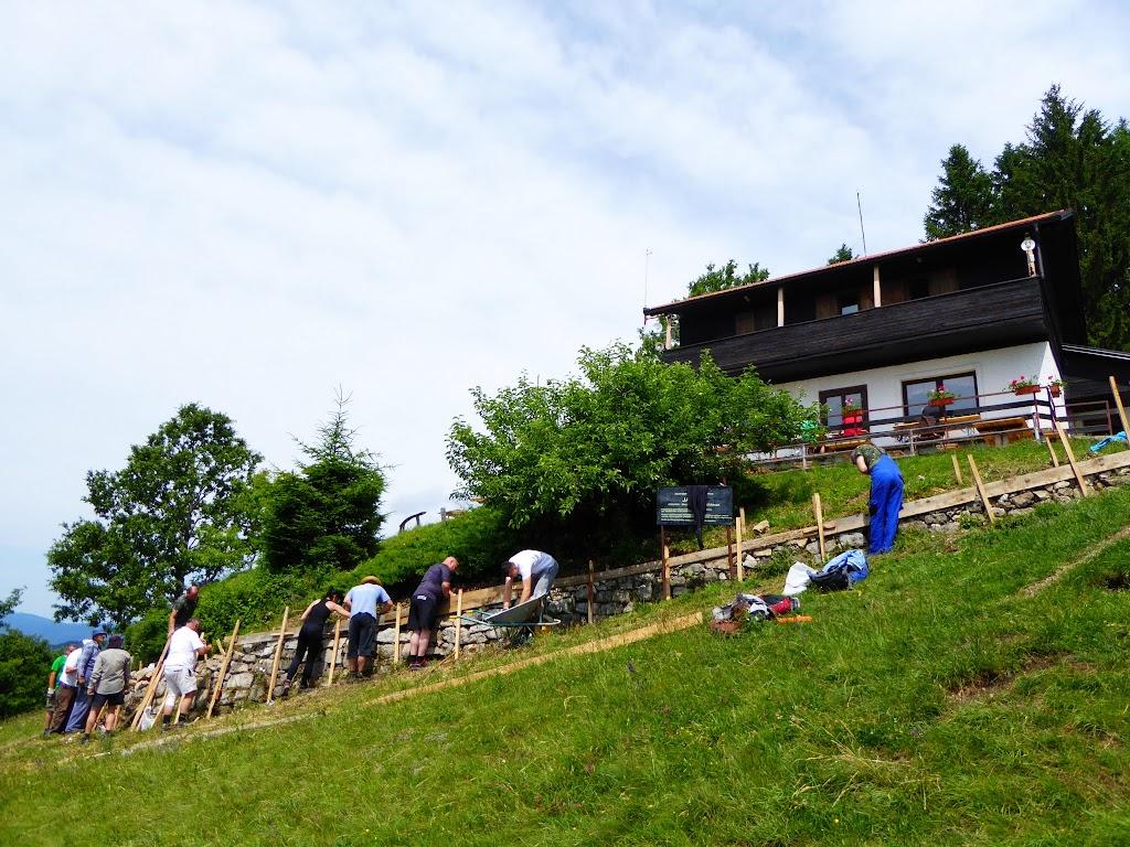 Završena sanacija podzida terase planinarskog doma Žitnica