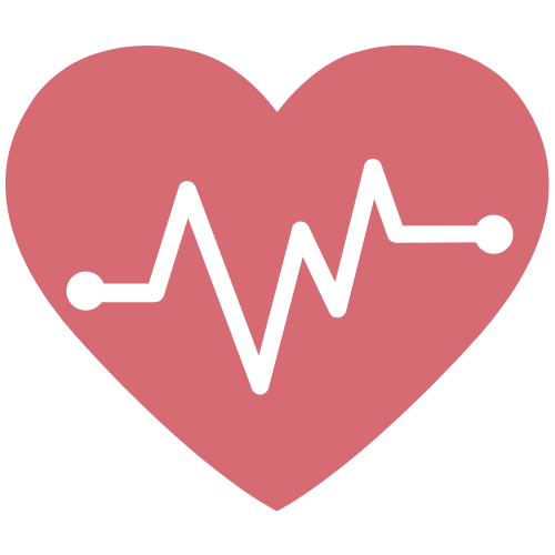 Image of heart with sinus rhythm chart