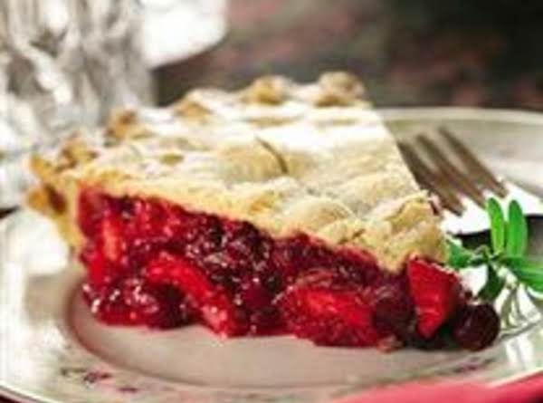Apple Cranberry Raspberry Pie