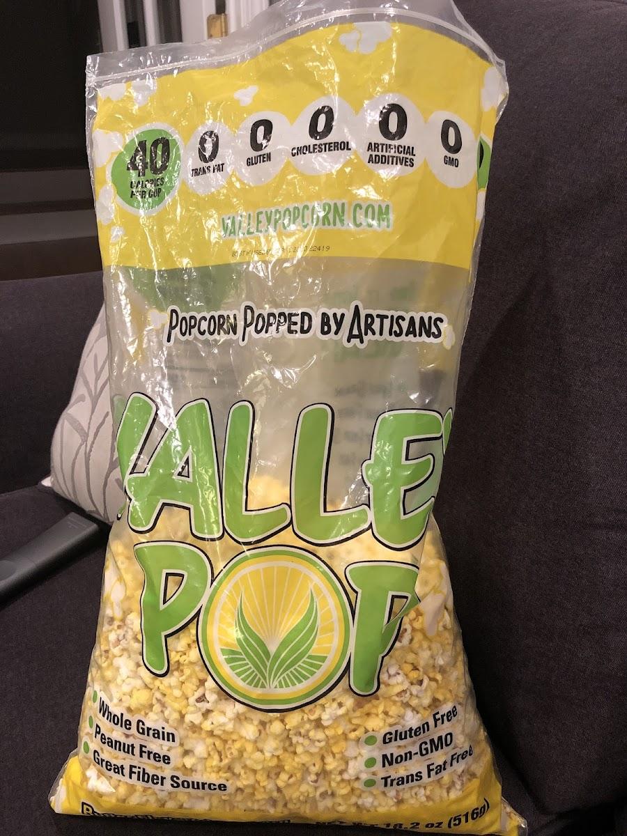 Popcorn Popped By Artisans