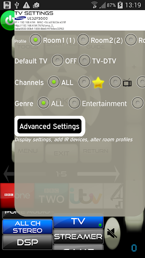 MyAV Pro Universal WiFi Remote screenshot 5