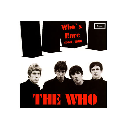 LP - The Who - Who´s Rare 1964 - 1968