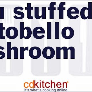 Tofu Stuffed Portobello Mushroom
