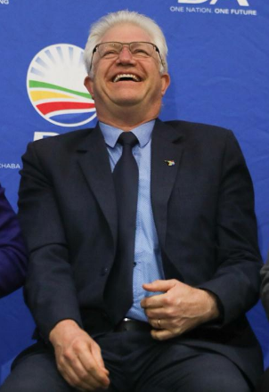 The DA's premier candidate in the Western Cape, Alan Winde