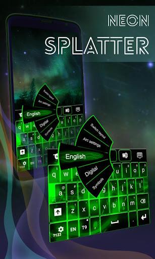 霓虹飛濺免費鍵盤