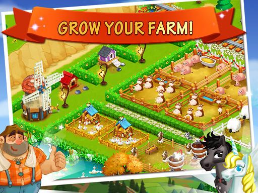 Happy Farm:Candy Day screenshot 4