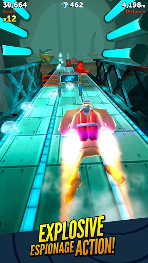 Agent Dash - Run Fast, Dodge Quick! screenshot 2