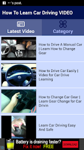 How To Learn Car Driving VIDEO screenshot 1
