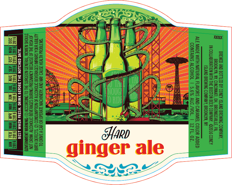 Logo of Coney Island Hard Ginger Ale