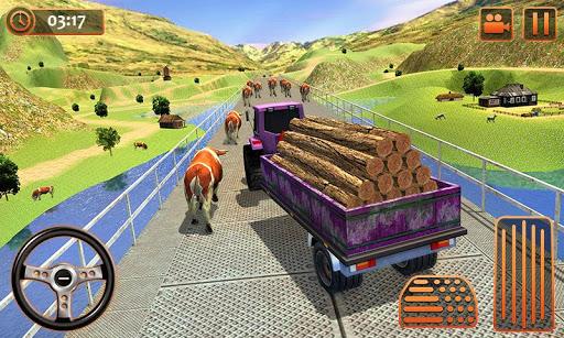 Farm Tractor Cargo Driving Simulator 20 1.5 screenshots 4