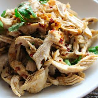 Spicy Shredded Chicken Salad.