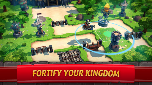 Royal Revolt 2: Tower Defense RTS & Castle Builder screenshots 2