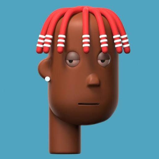 Lil Yachty – 3D Crypto Punk