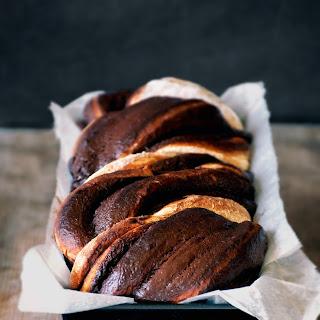 Chocolate Banana Babka