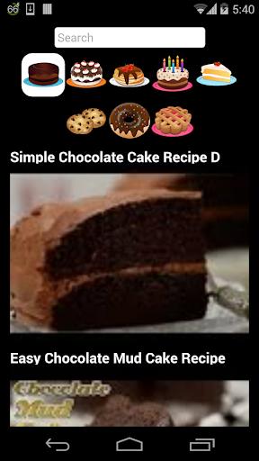 ケーキのレシピの動画