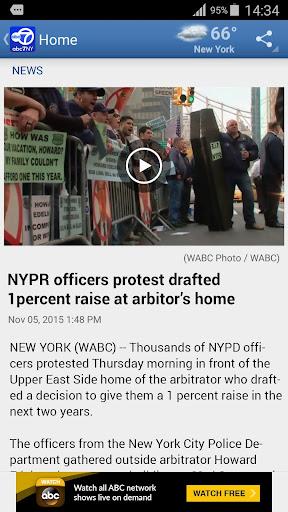 WABC Eyewitness News Screenshot