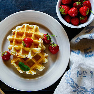 Healthy Whole Wheat Waffles With Flaxseed Recipes