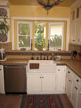 "Photo: Kitchen Backsplash Design ""Spanish Cross"" Pvt. Residence, Glendale, CA"