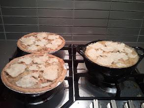 Photo: I made too many chicken pot pies. ;_;