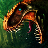 Angry Dinosaur Jungle Hunt: T Rex Simulator