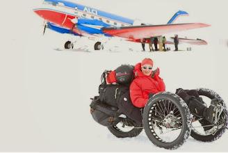 Photo: Ankunft in der Antarktis