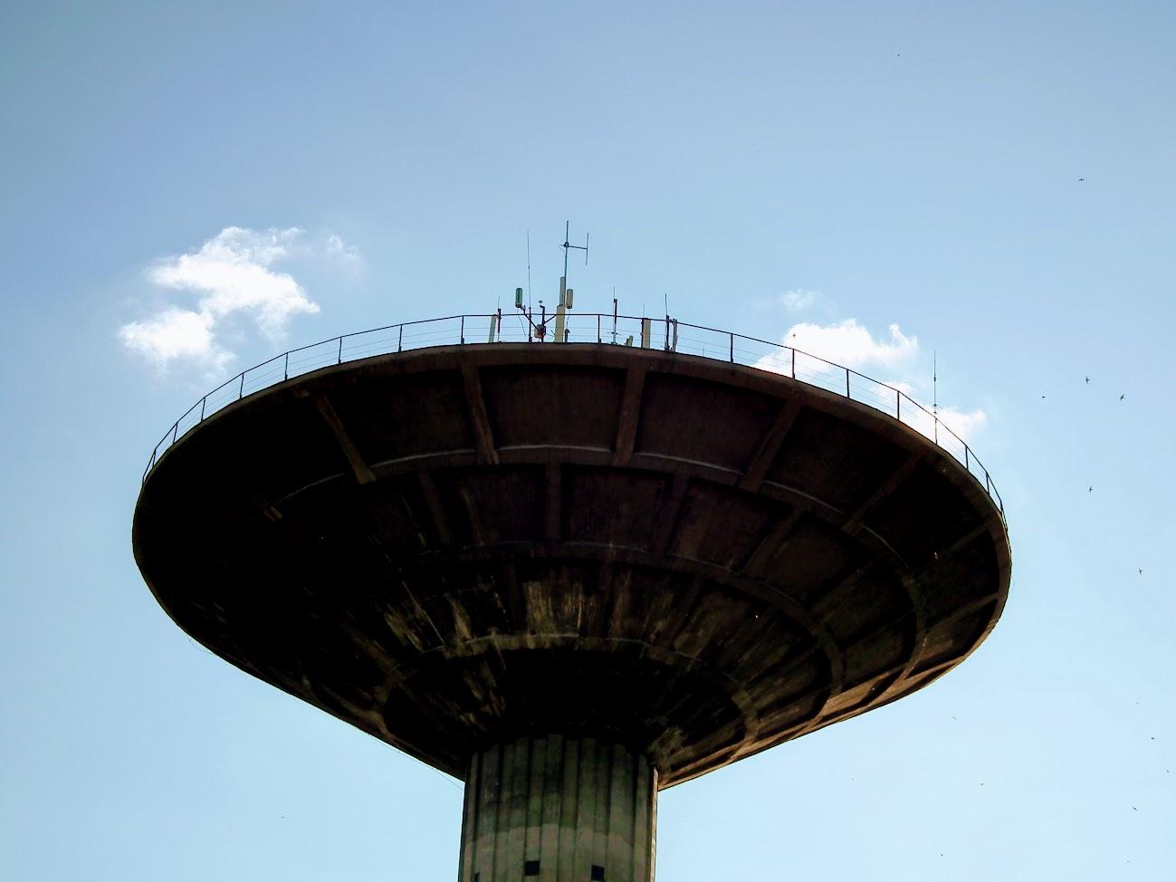 Csongrád/víztorony - helyi URH-FM+DVB-T adóállomás