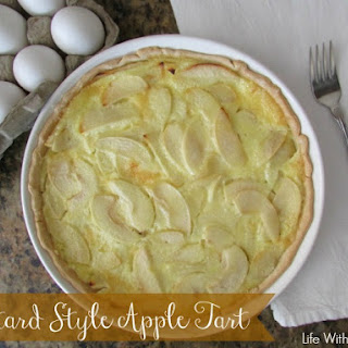 Custard Style Apple Tart 0