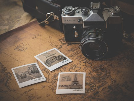 Old, Journey, Adventure, Photo, Map