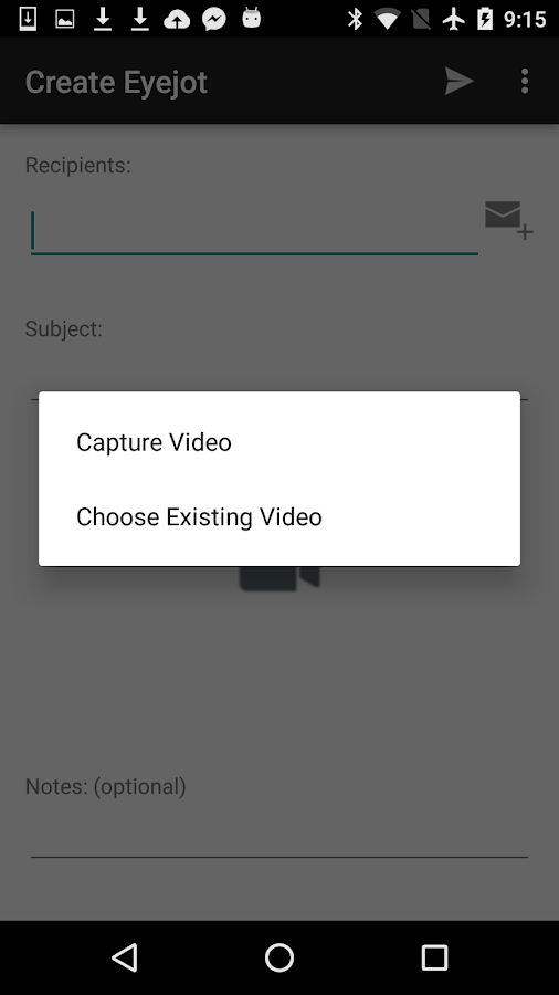 Eyejot video mail android apps on google play eyejot video mail screenshot reheart Image collections