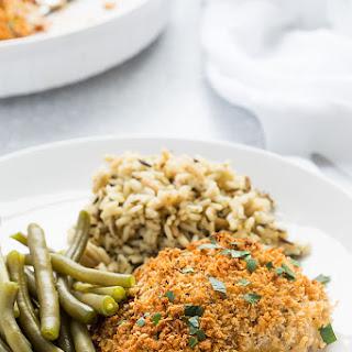 Herb Breaded Chicken Thighs Recipe