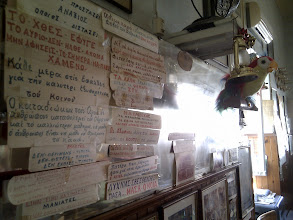 Photo: inside Cafe Olympia, an authentic drug store-come-cafe-come-local-pub place