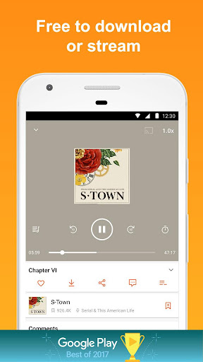 CastBox: Free Podcast Player, Radio & Audio Books 7.5.8-180107017 screenshots 2