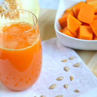 Melon Butternut Squash Dessert Juice Recipe