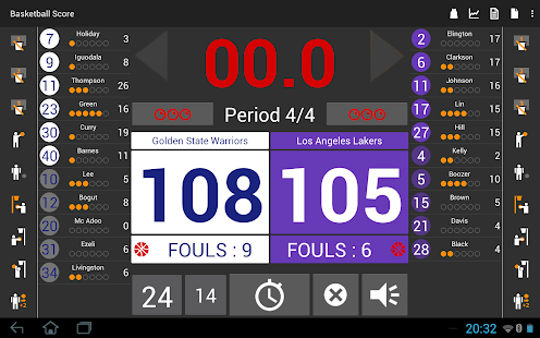 Basketball Score Light- screenshot thumbnail