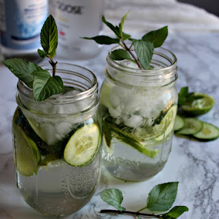 Spiked Spa Water #SundaySupper.