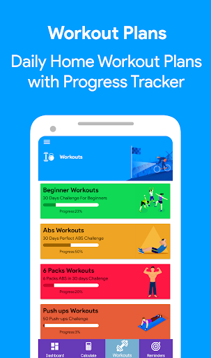 Health Pal - Fitness, Weight loss coach, Pedometer screenshots 2