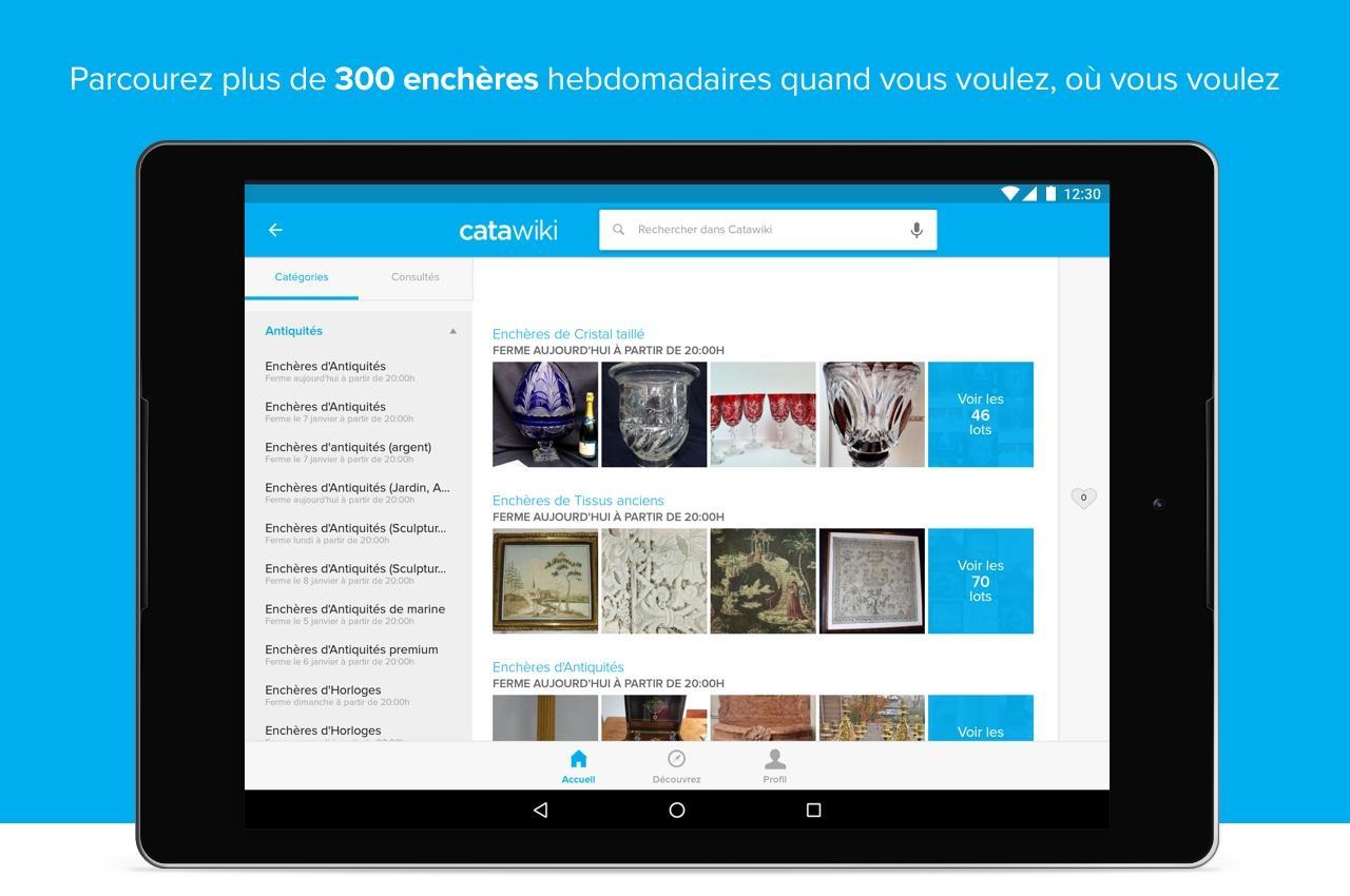 catawiki ench res en ligne applications android sur google play. Black Bedroom Furniture Sets. Home Design Ideas