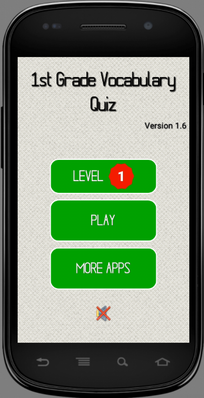 Скриншот 1st Grade Vocabulary Quiz