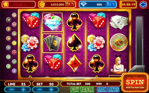 Girl & Vegas Slots Free Casino screenshot 2