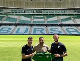 Massimo Bruno tekent een contract bij Bursaspor