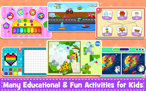 Kids Preschool Learning Games – 120 Toddler games 7