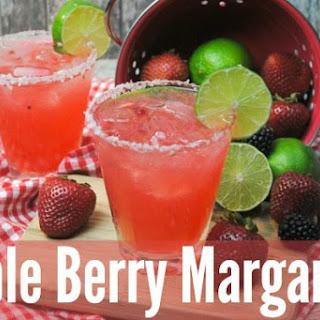 Triple Berry Margarita.