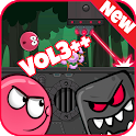 Red Jump 4: Bounce Ball Adventure icon